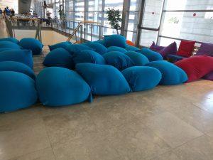biu cyber waiting area