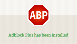 Recommended Firefox security extensions: Adblock Plus