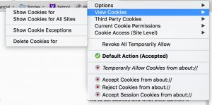 Recommended Firefox security extensions: Cookie Monster