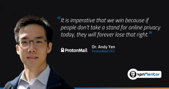 ProtonMail's Dr. Andy Yen: Encryption and the New Crypto War