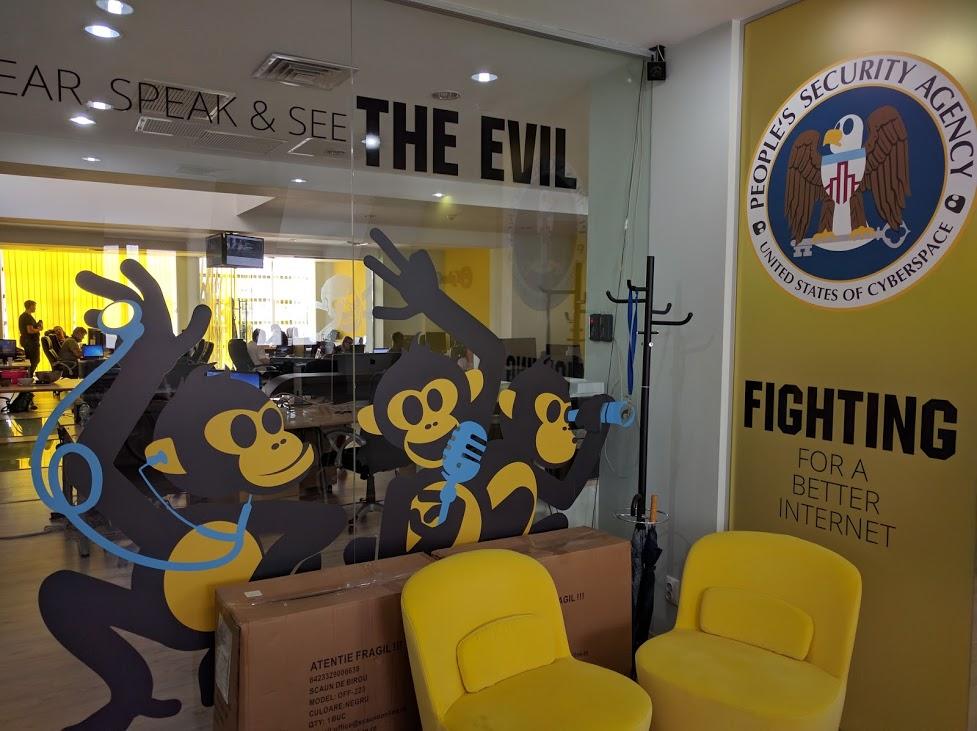 Cyberghost office Romania