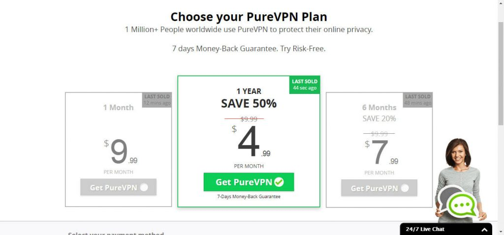 how to open an account with purevpn