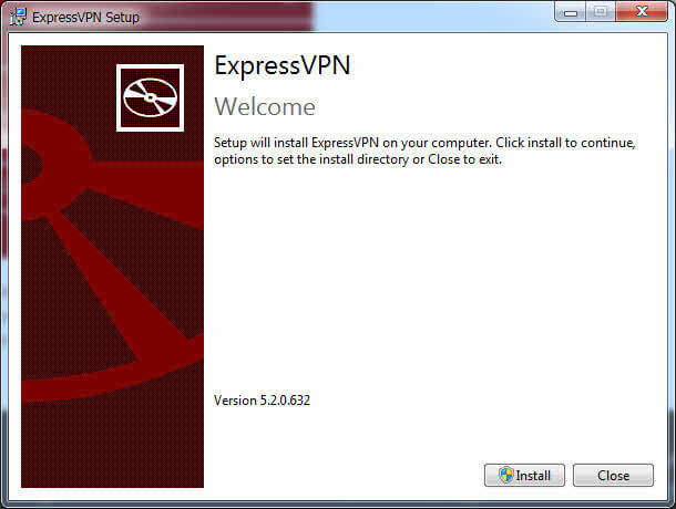 Install expressvpn on windows