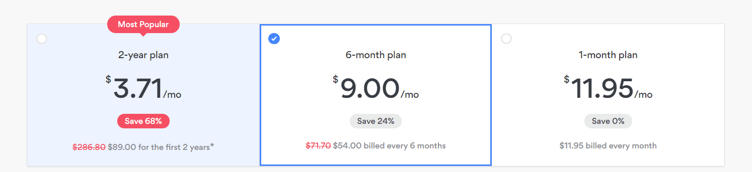 6 month NordVPN plan