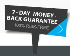 VPNArea money back guarantee sign