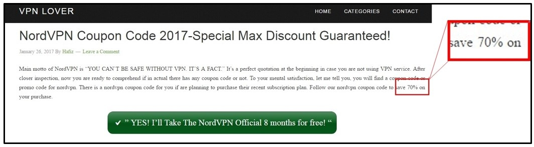 NORDVPN COUPON CODE 2019