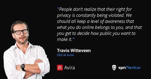 Travis-Witteveen Avira CEO