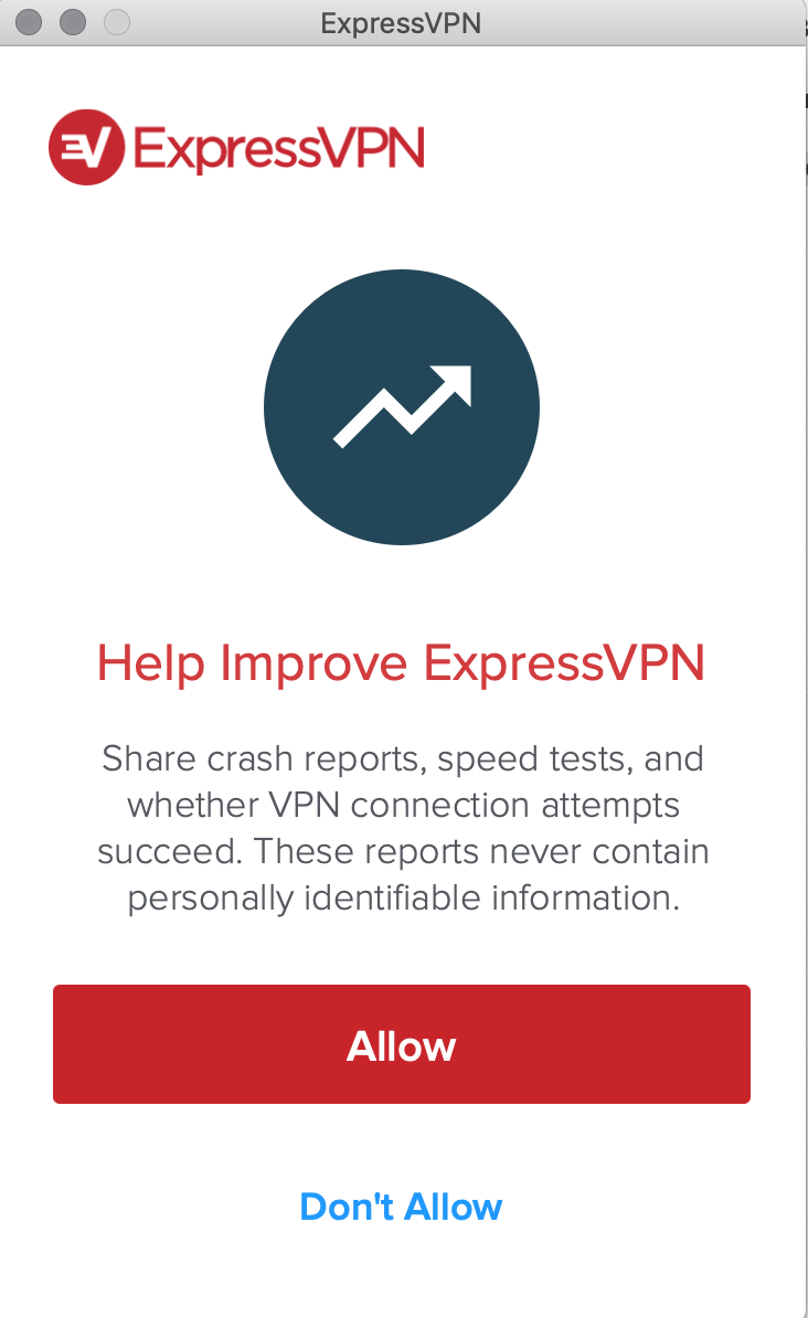 ExpressVPN Mac OS Native App