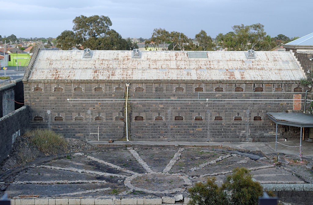 Pentridge Prison Panopticon Ruin 2015