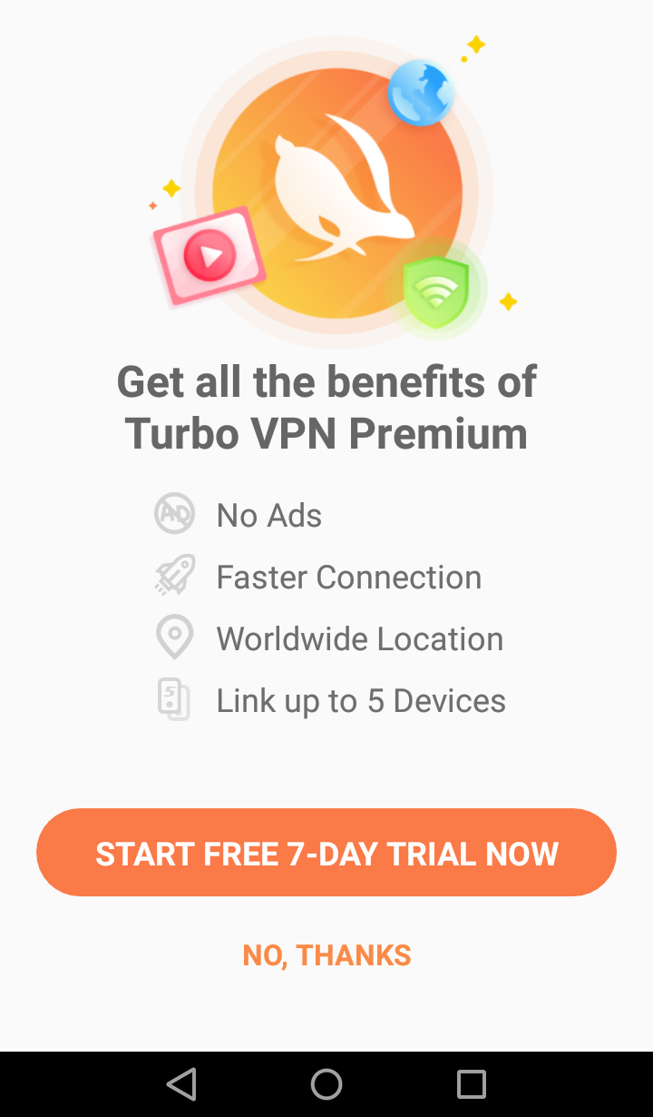TurboVPN benefits