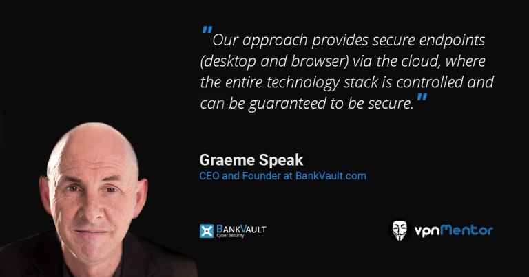 Graeme Speak from BankVault