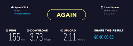 NordVPN speed test- fastest vpn ever