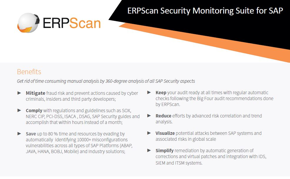 erpscan benefits