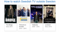 How to Watch Swedish TV Outside of Sweden