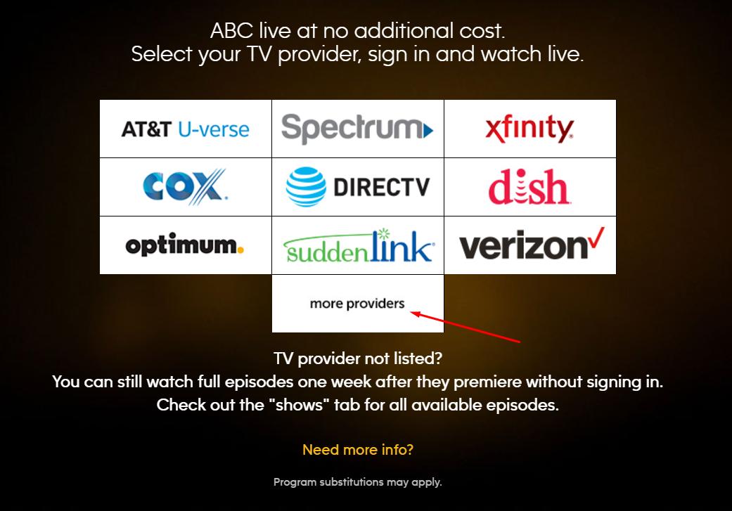 ABC Go screenshot