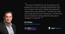 Trusona – On a Mission to Eliminate Passwords From the Internet