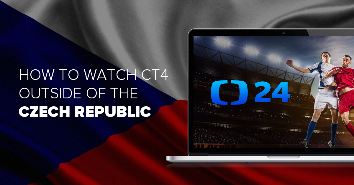 How to Stream ČT Sport for FREE Outside the Czech Republic