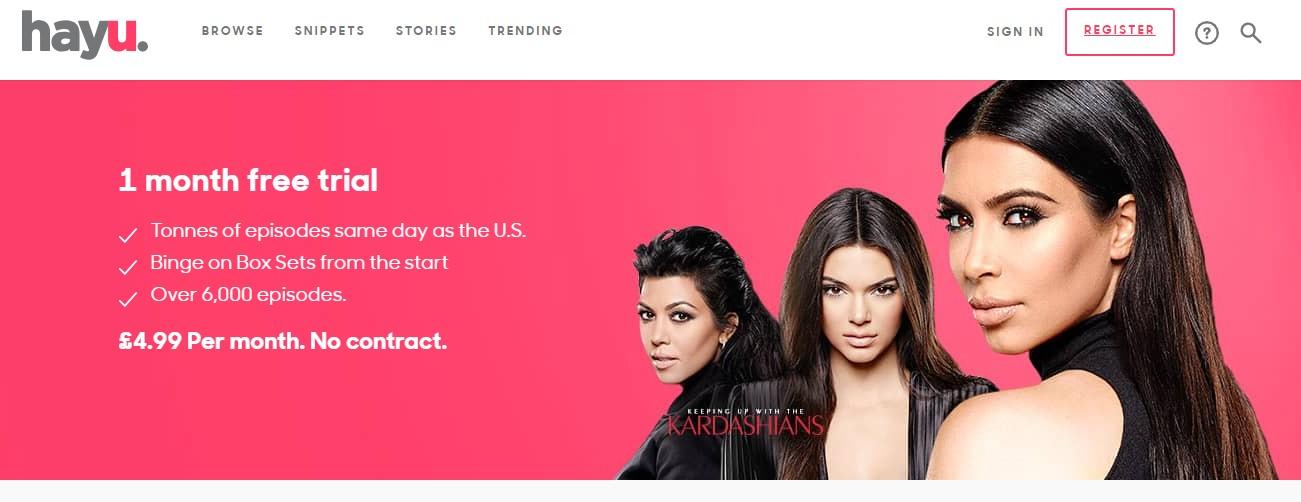 hayu Homepage
