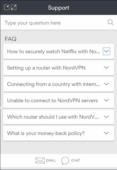 NordVPN sık sorulan sorular