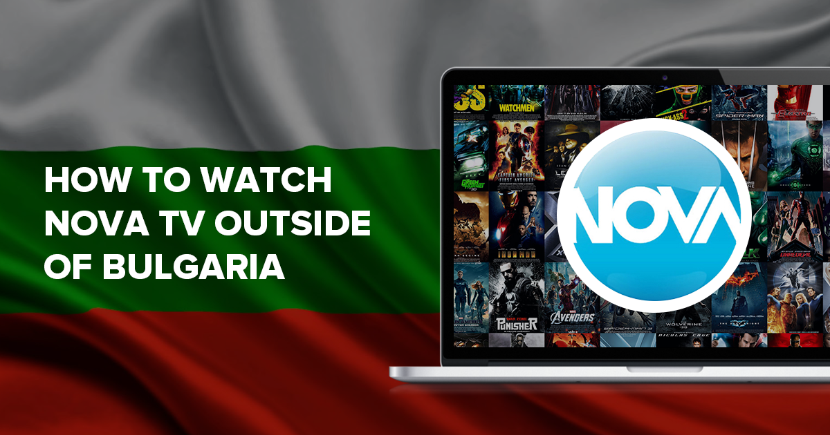 Header for watching Nova outside of Bulgaria
