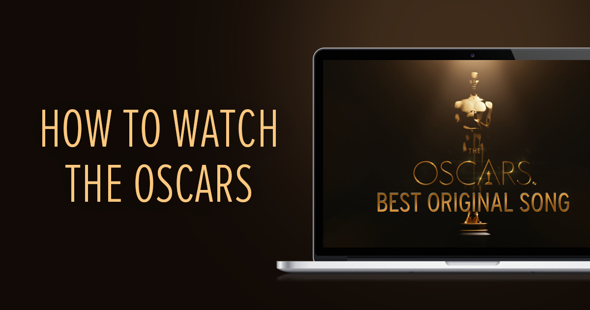 how to watch the oscars live in canada