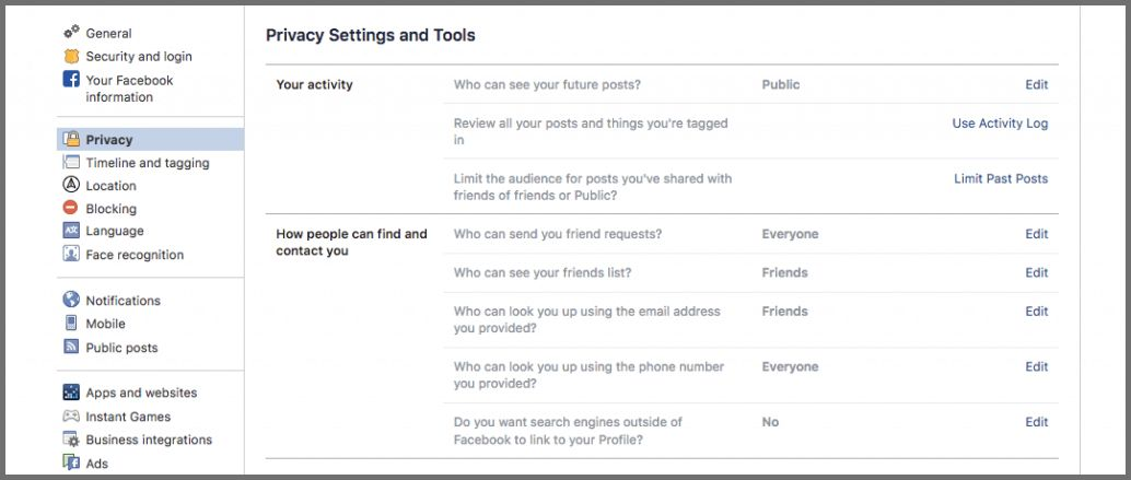 secure your facebook 2