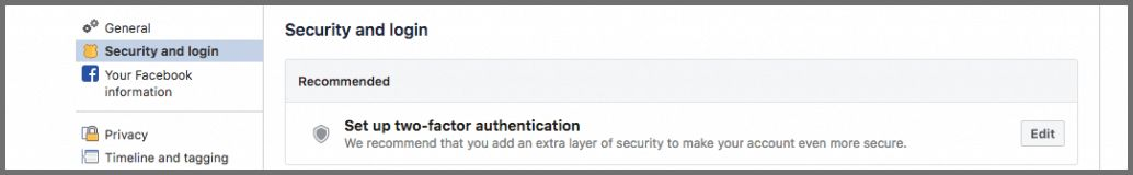 secure your facebook 4