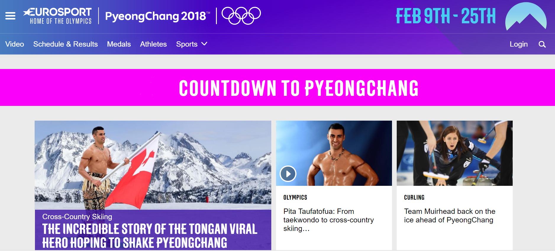 comment regarder les jeux olympiques de pyeongchang 2018. Black Bedroom Furniture Sets. Home Design Ideas