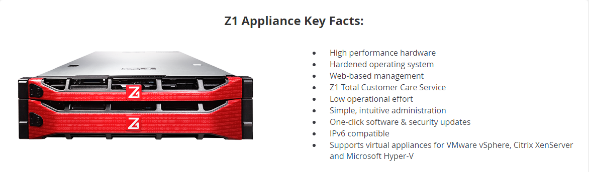 zertificon appliances
