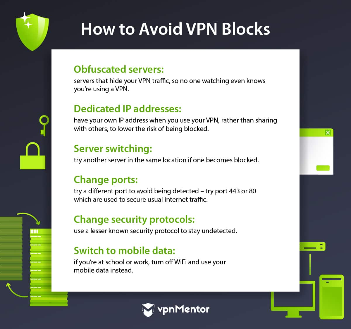 How to avoid VPN blocks