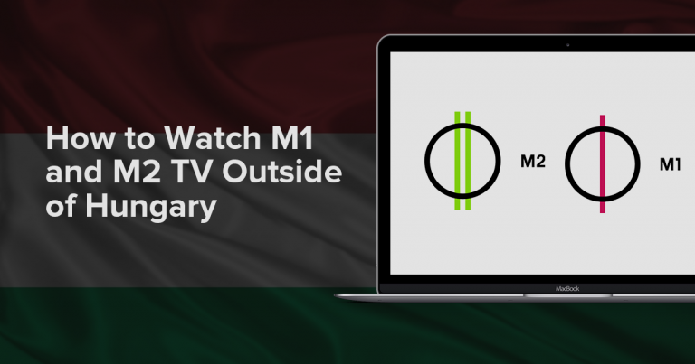 Watch M1 and M2 outside Hungary
