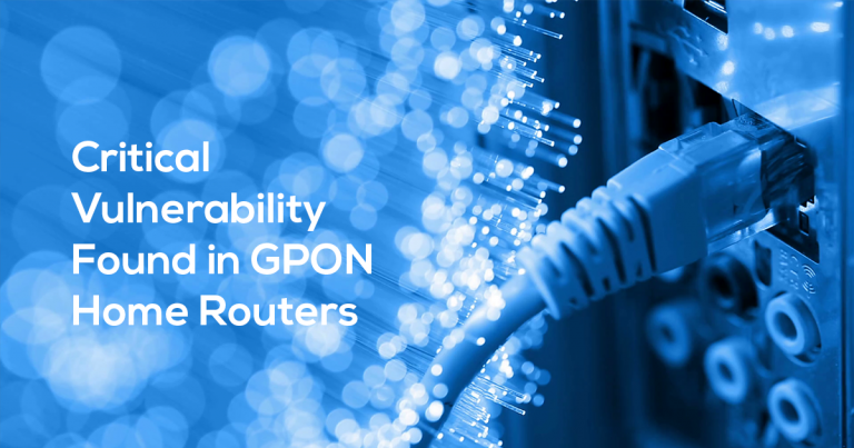 Critical RCE Vulnerability Found in Over a Million GPON Home Routers