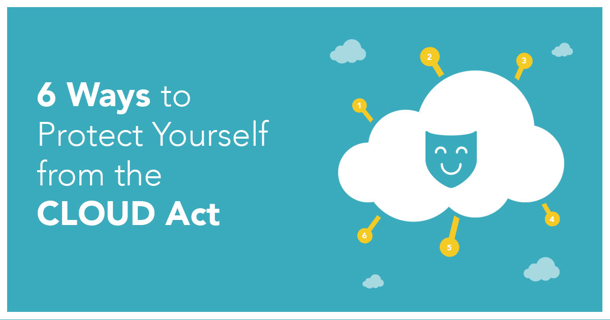 6 Ways to Protect Yourself from the CLOUD Act