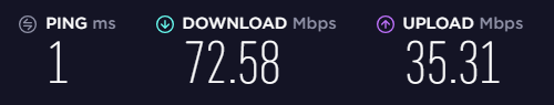 Speed without a VPN