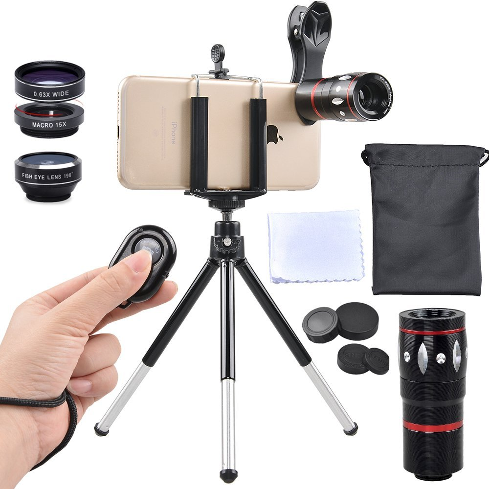 Apexel photo lens kit