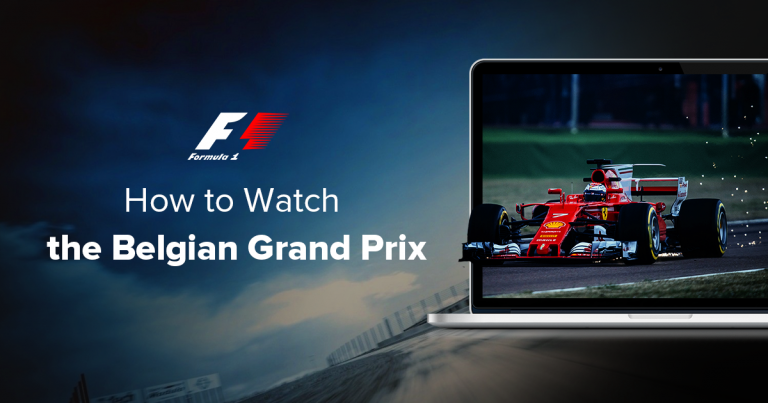 Watch the Belgian Grand Prix