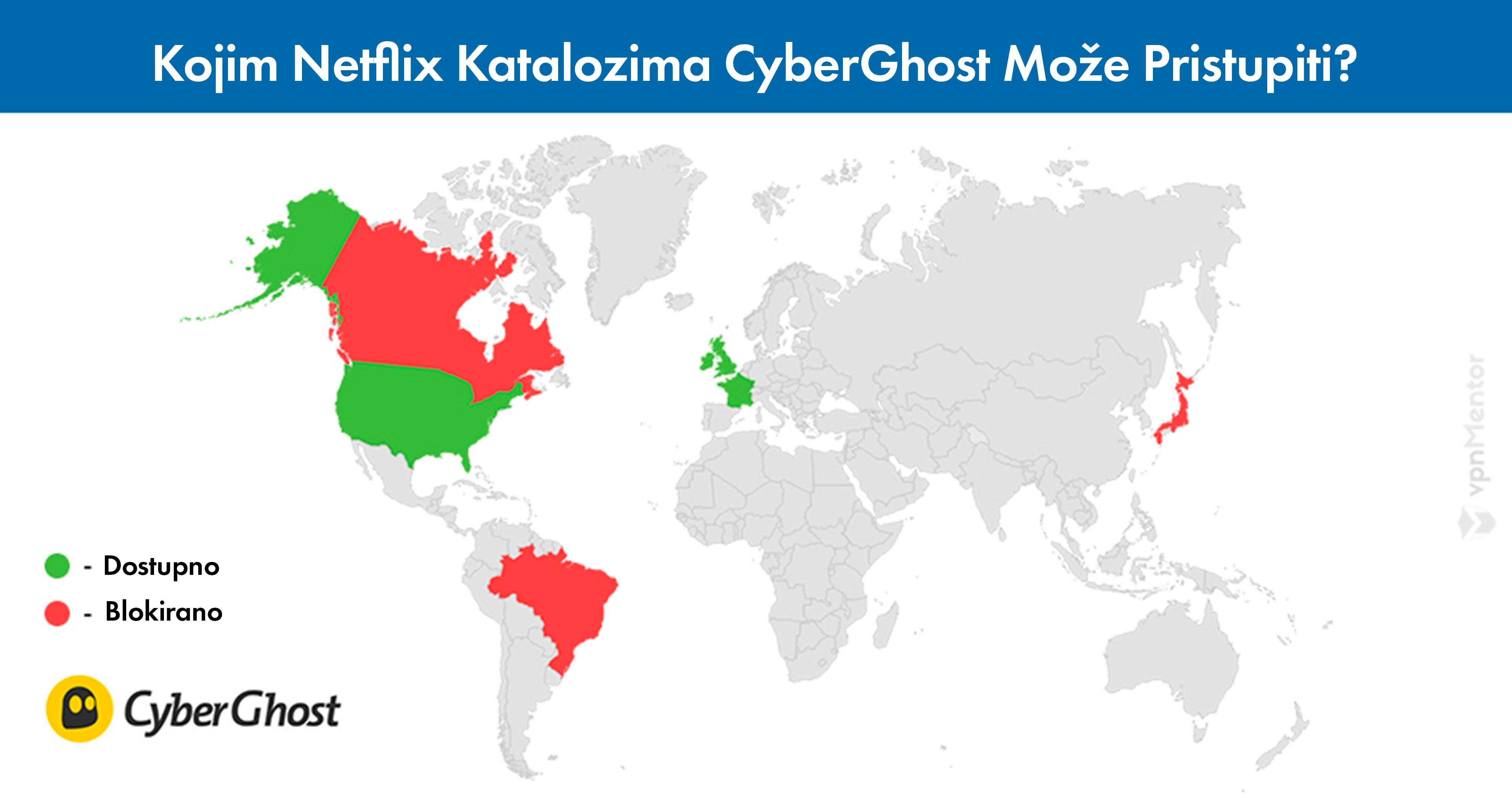 cyberghost pristup netflix katalozima