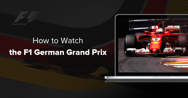 Watch the F1 German Grand Prix