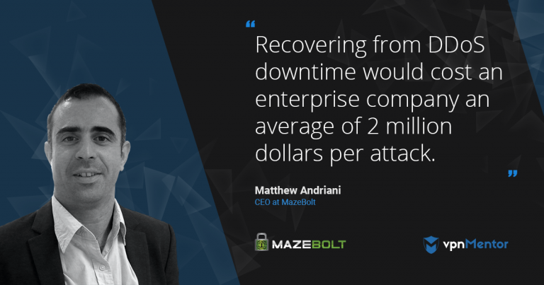 Regain Visibility and Control of your Assets with MazeBolt DDoS