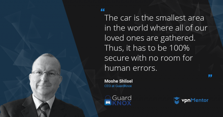 Guardnox CEO Moshe-Shlisel