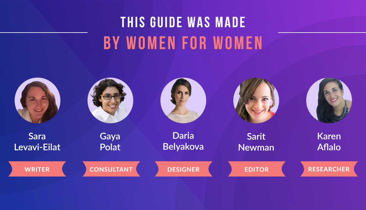 This guide was made by women for women