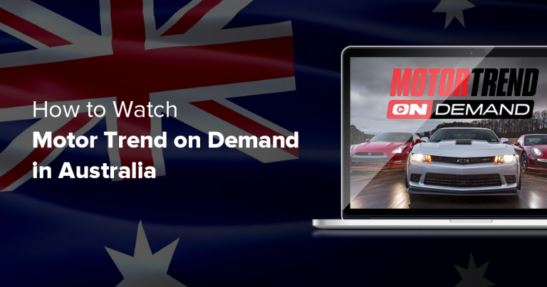 How to Watch Motor Trend On Demand in Australia in 2019