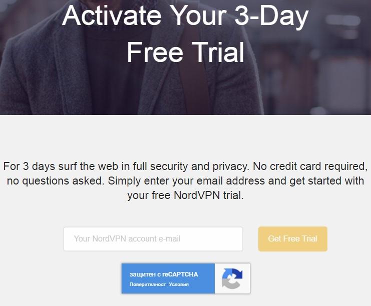 Nordvpn get free trial