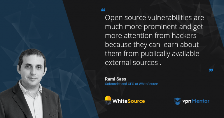 Whitesource CEO Rami Sass