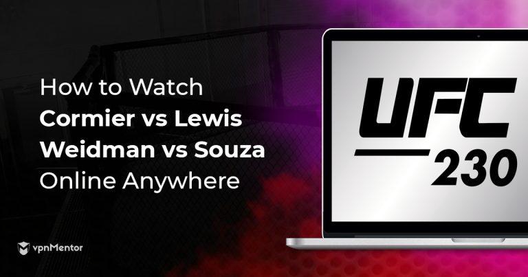 UFC 230 Image Update
