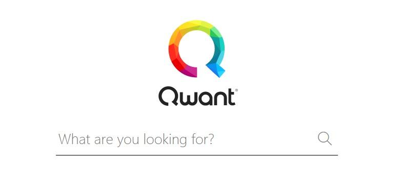 Qwant landing page