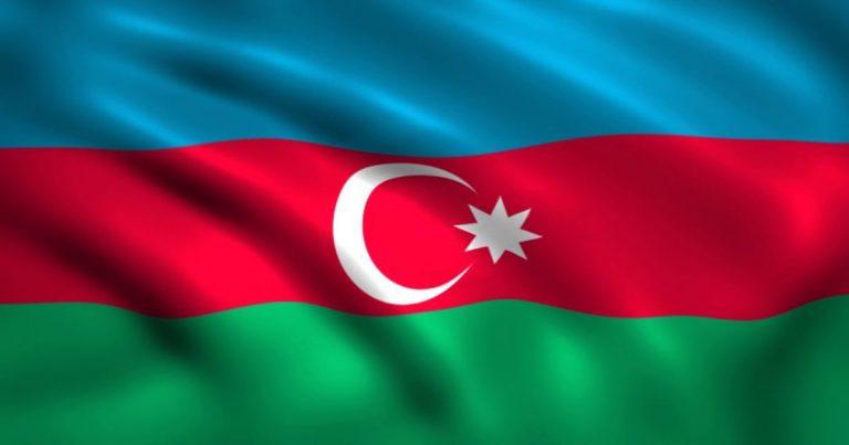 Azerbaijan's Flag