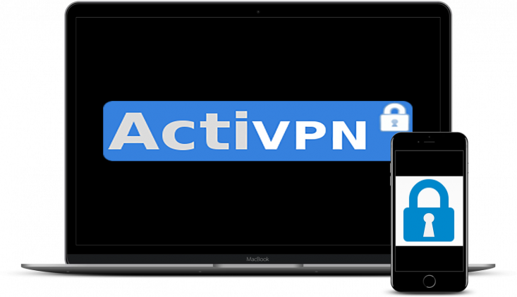 Small assortment of technological devices compatible with ActiVPN.