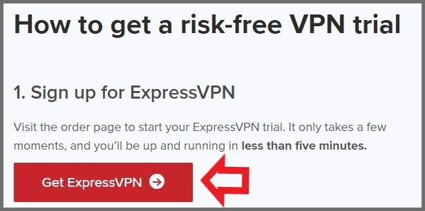 How to get ExpressVPN free trial
