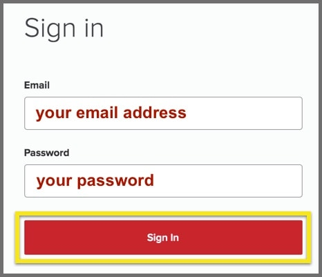 Installing ExpressVPN-Sign in to your account